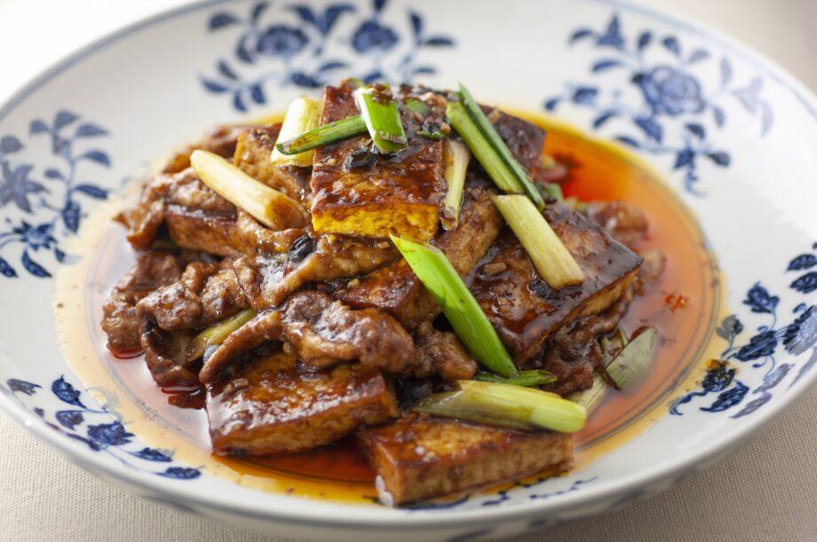 麻婆豆腐より熊掌豆腐(シォンジャンドウフ)のイメージ